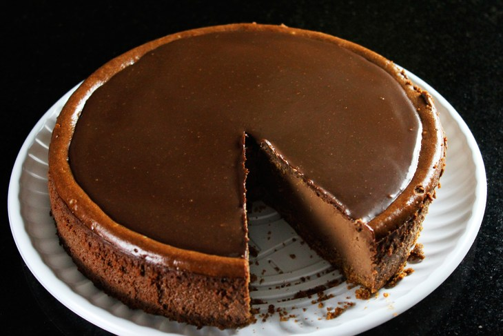 Cheesecake de chocolate