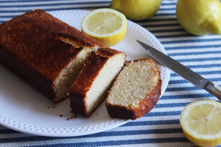 Spring and summer pound cake recipe