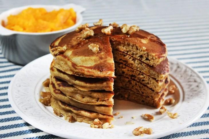 Pancakes de calabaza, receta