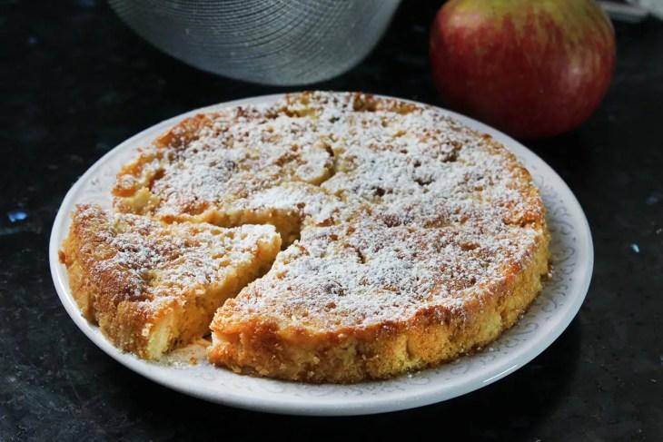 Pastel de manzana fácil de hacer