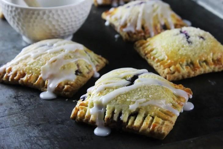 Pop tarts de blueberries