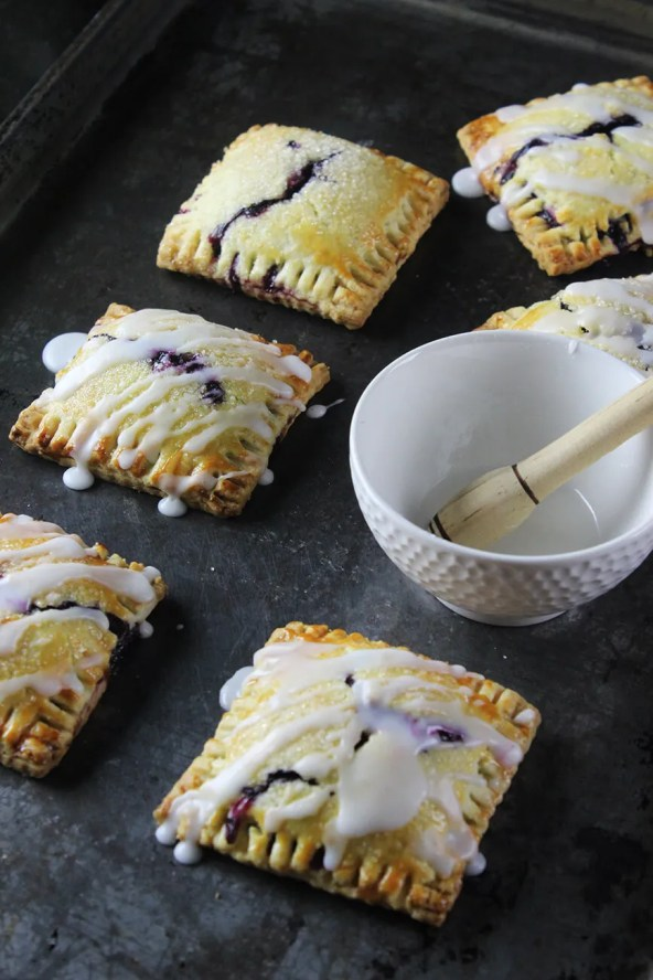 Blueberry pop tarts recipe