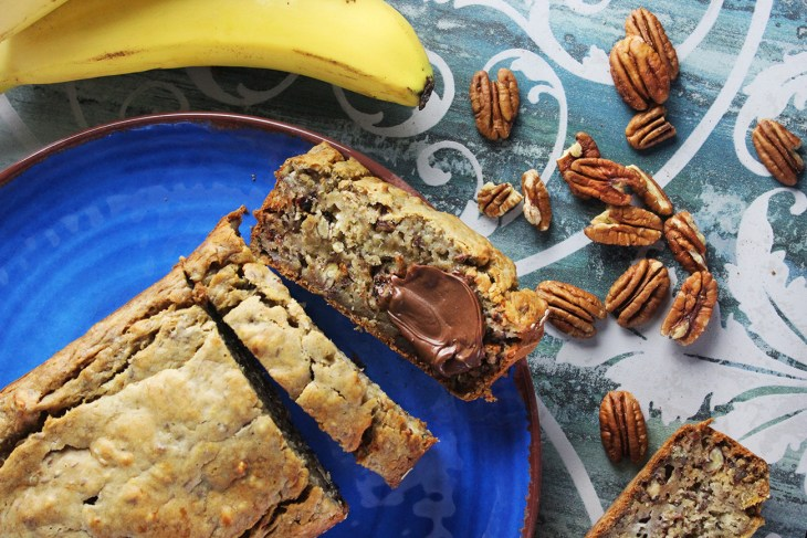 How to make a vegan banana pound cake
