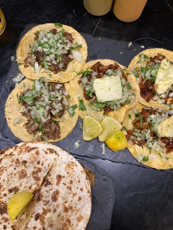 Takos al pastor the best tacos in Madrid