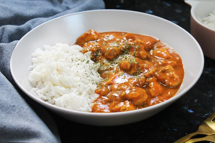 Como hacer curry de pollo