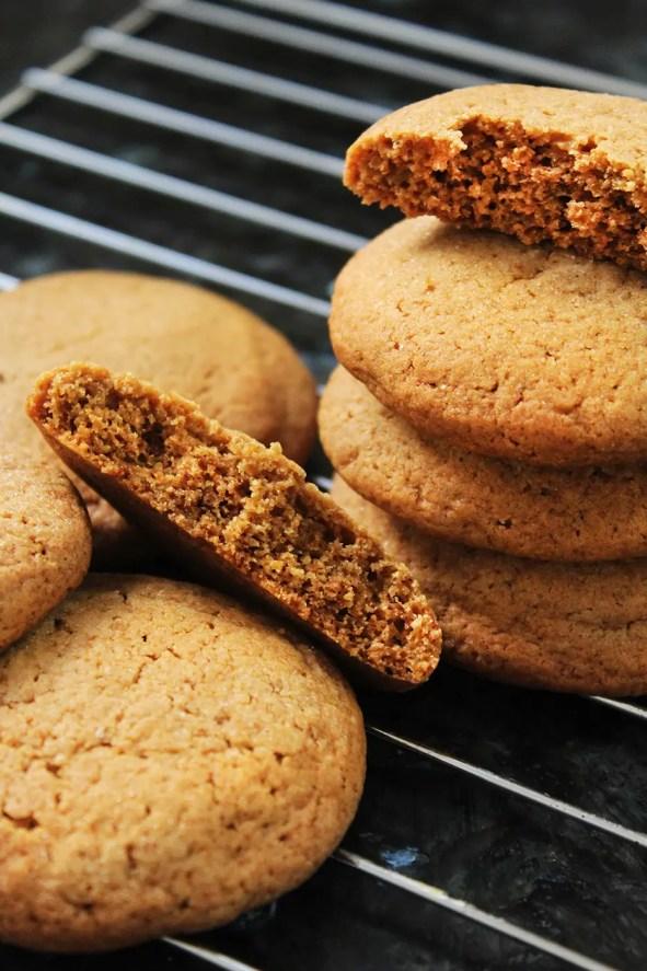 Como hacer galletas de melaza