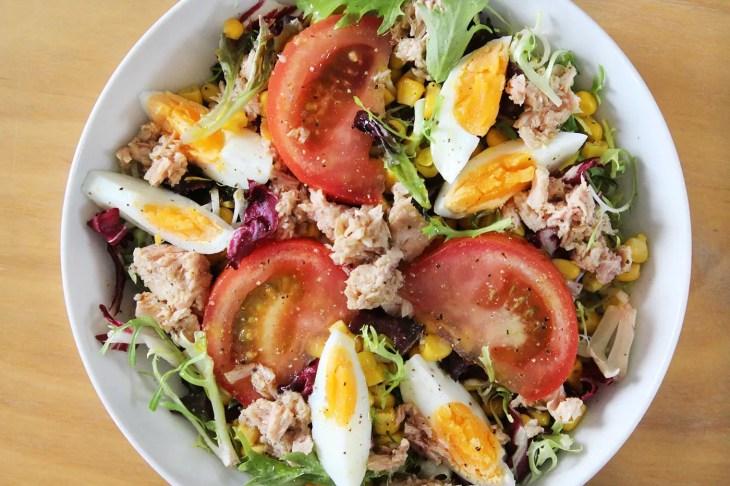 Tuna and egg salad recipe