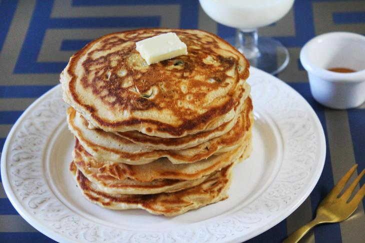 How to make blueberry pancakes
