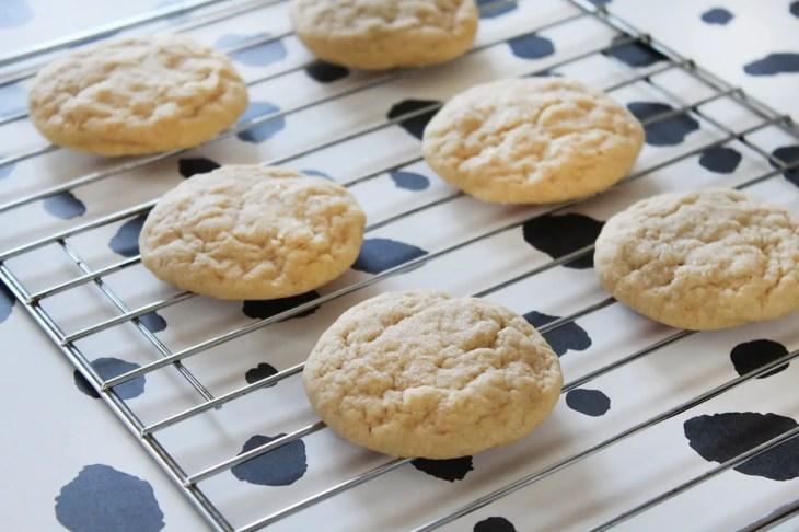 Receta de galletas suaves de azúcar