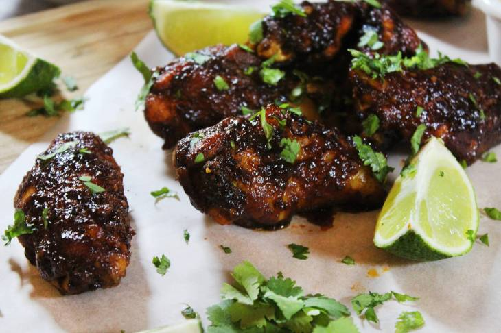 Crispy chipotle wings recipe