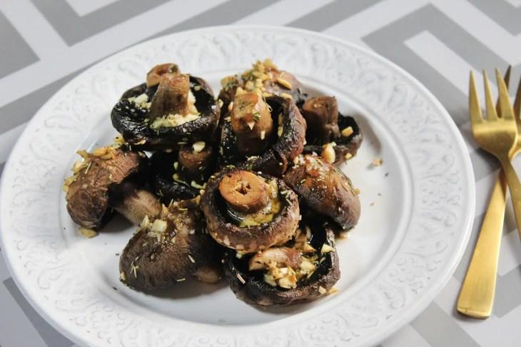 Garlic butter mushrooms recipe