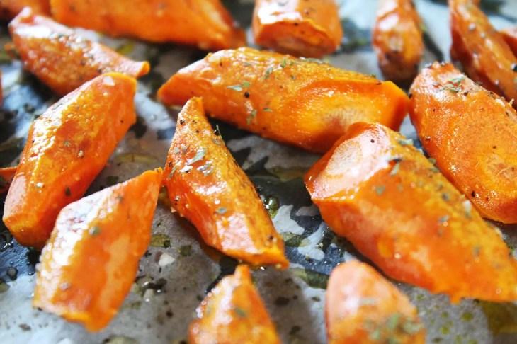 Como hacer zanahorias al horno