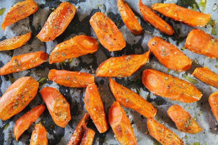 How to make roasted carrots