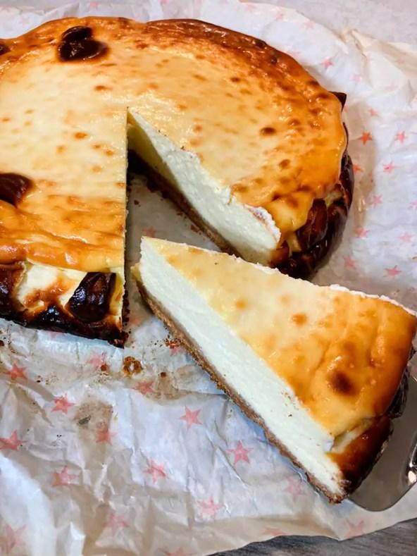 Tarta de queso española