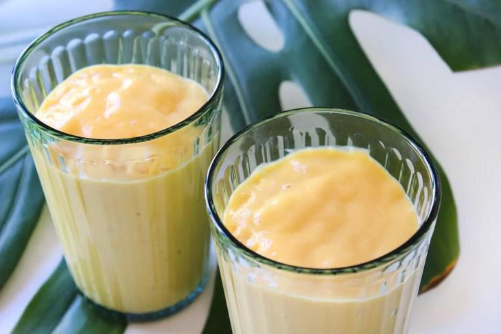 Receta de smoothie de mango