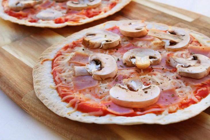 Receta de pizzadilla