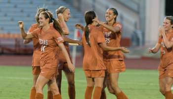Texas Women's Soccer on 08-15-2014 against Incarnate World (photo: Jesse Drohen)