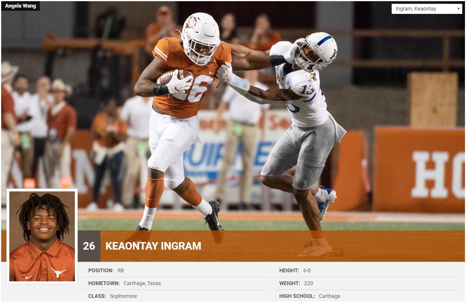 Keaontay Ingram #26
