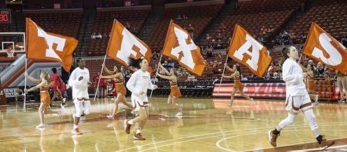 Our Texas team on the court!