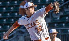 Texas pticher Ty Madden-