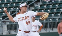 Texas pitcher Jared Southard-