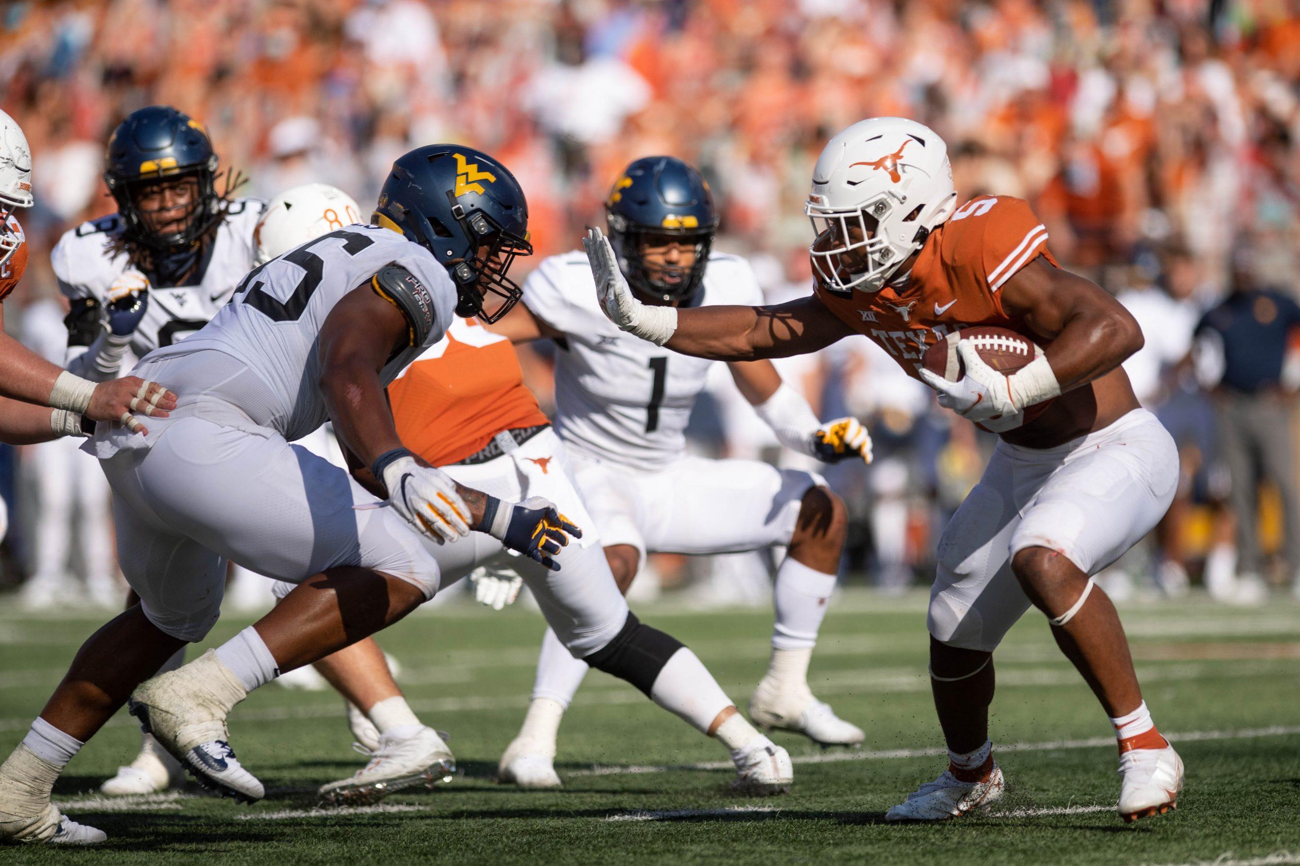 Texas Longhorns Football Bijan Robinson