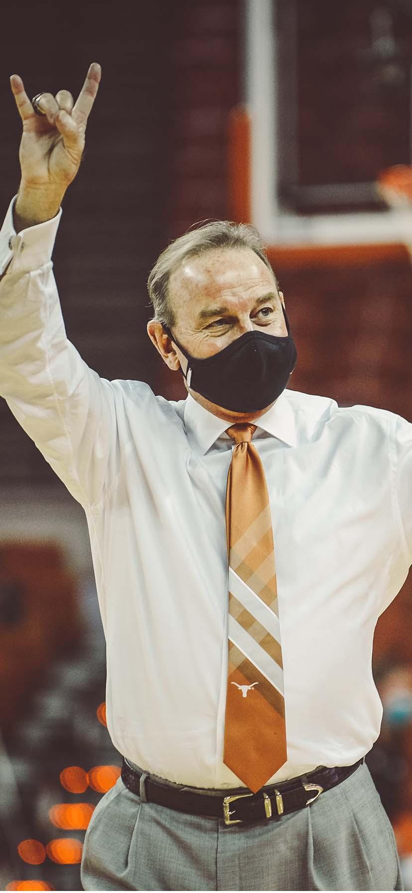 Texas WBB Head Coach Vic Schaefer