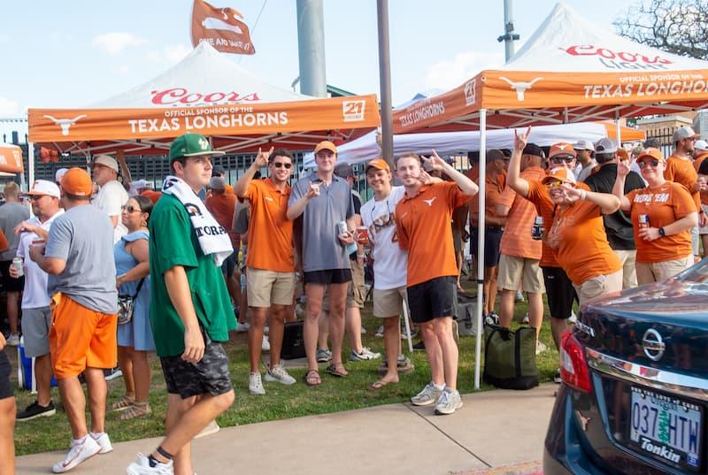 Texas Longhorns Fans