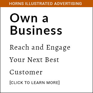 Own a Business - Horns Illustrated Advertising