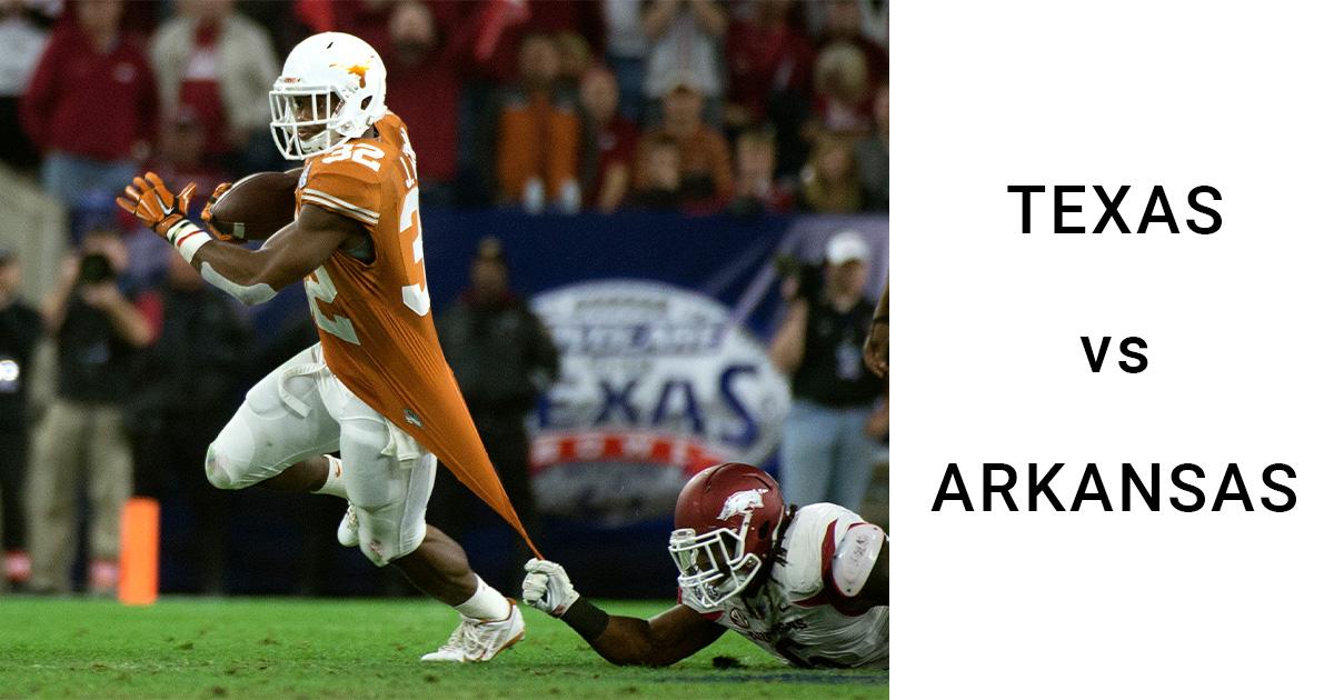 Texas vs Arkansas
