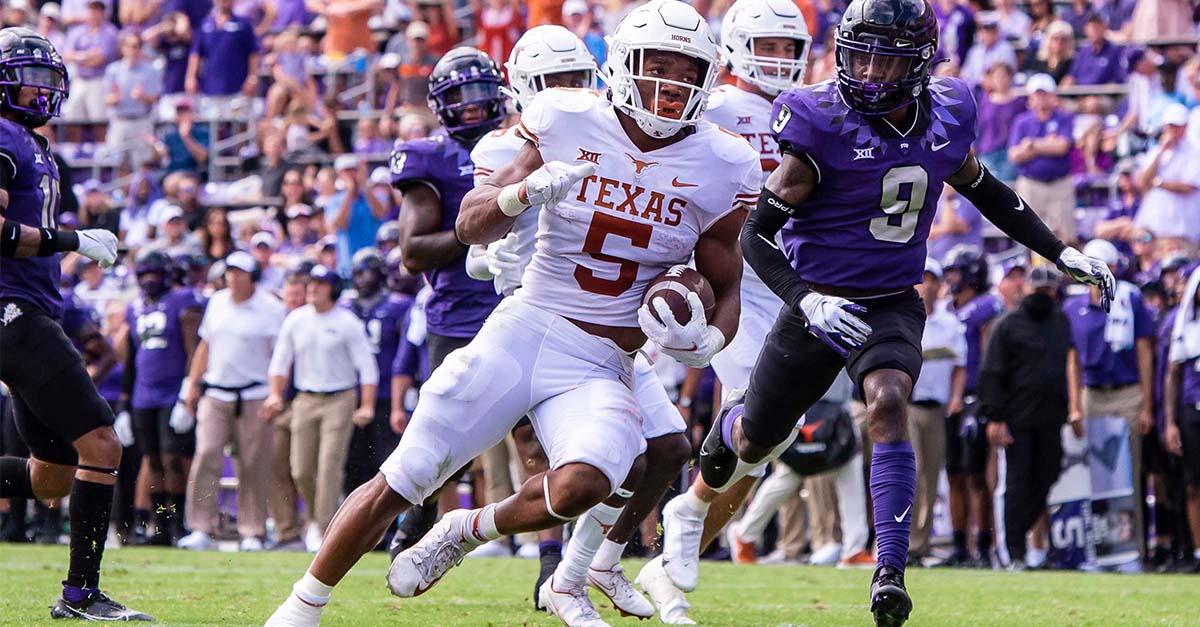 Photo Gallery Texas over TCU Cover