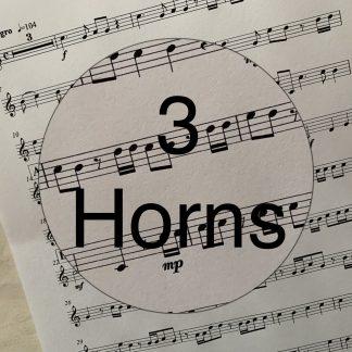 Music - 3 Horns