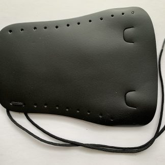 Lace Black Leather Guard