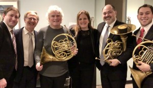 Really? Simon Rattle holding one of our horns.... Pinch me!