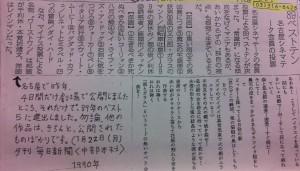 『自転車吐息』園子温監督自作コピーチラシ(部分/名古屋シネマテーク)
