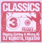 DJ KUBOTA, TAKESHI CLASSICS 3