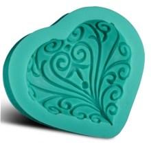 WS NZ-0156 Silicone Decoartive Heart Mould