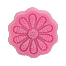 NZ-0310  Silicone 10 petal lace flower mold.3