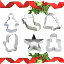 NZ-0448 6pc Festive Cookie Cutter Combination.1