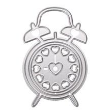 NZ-0652 Alarm Clock Scrapbook Cutting Die_0004_Layer 1