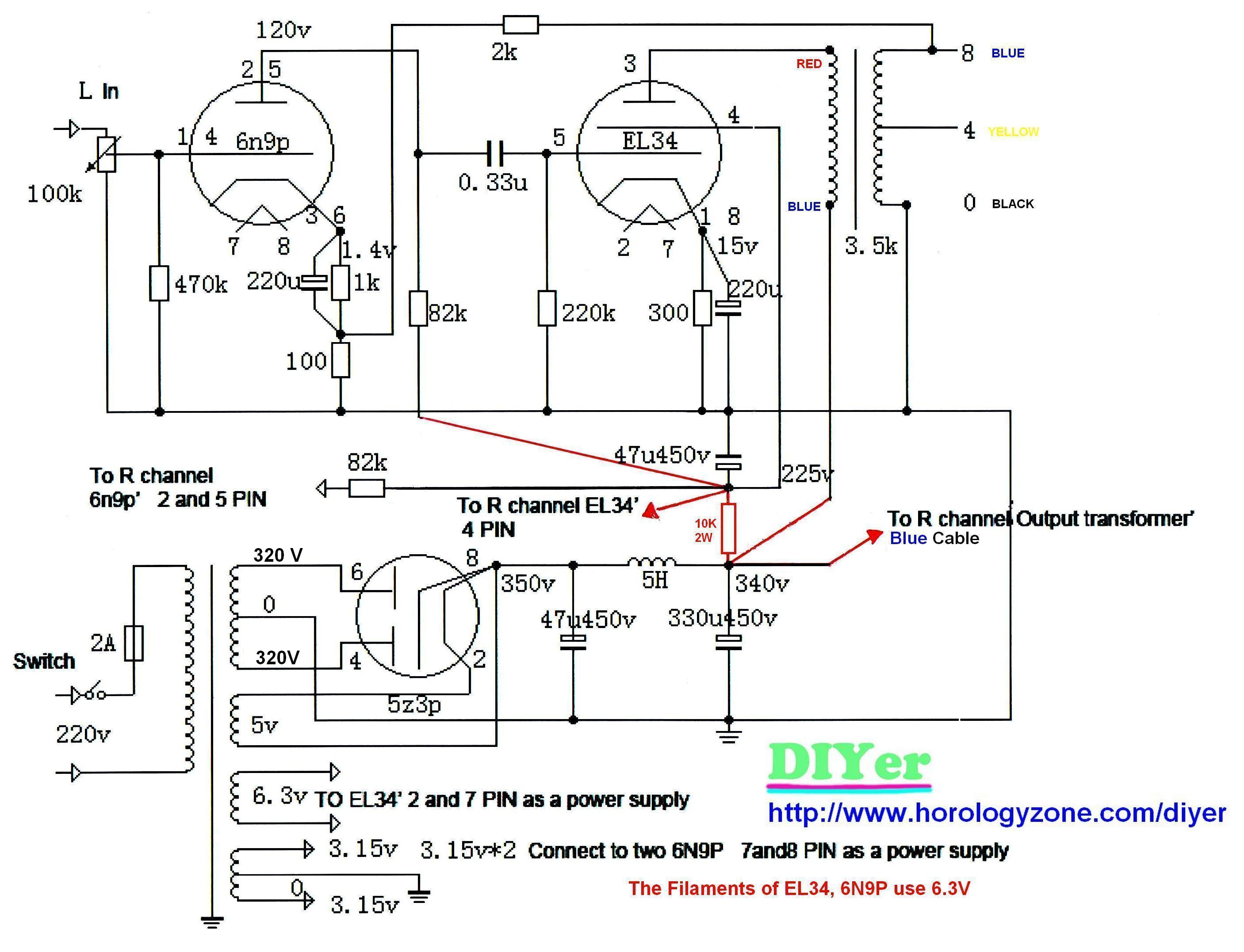 Transformers Wiring Diagram For Audio
