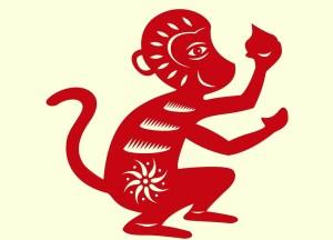 Mono calendario chino