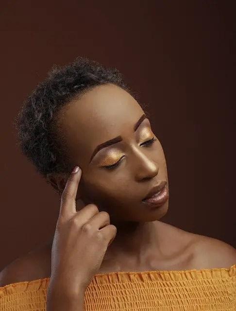 Chica afroamericana