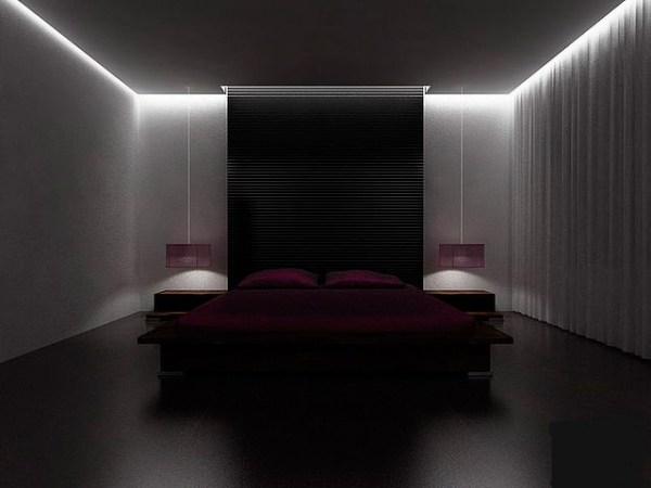 Светодиодная лента на потолок - подсветка натяжного потолка