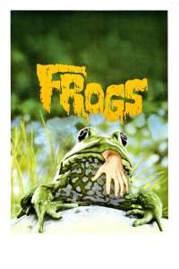 "Poster for the movie ""Frogs"""