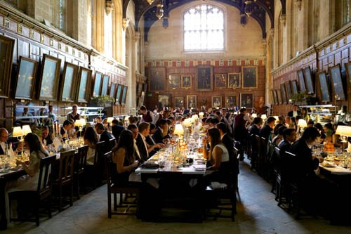 Christ Churchs Great Hall Used In Harry Potter Films Re