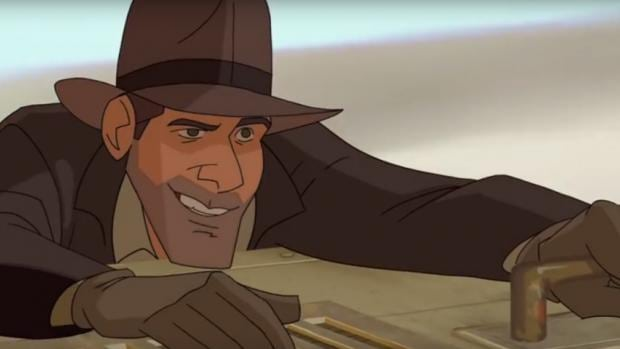 Image result for indiana jones animation