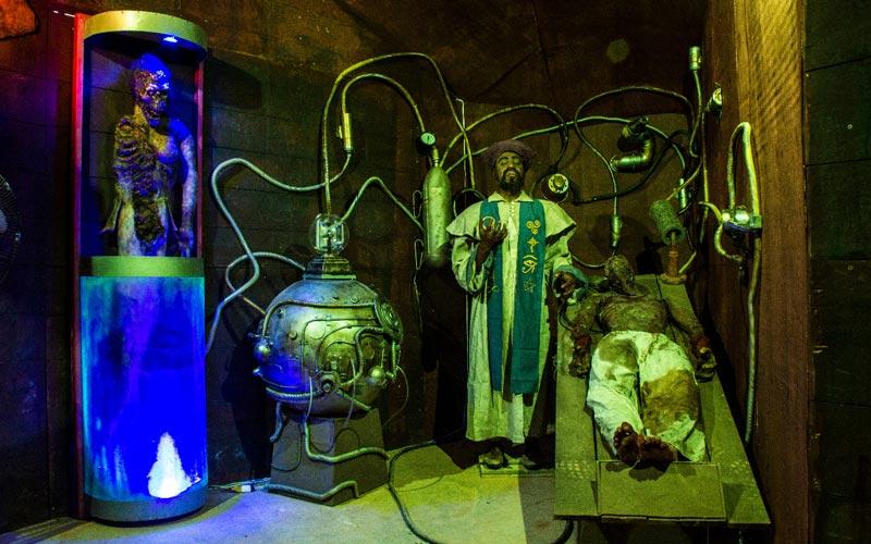Museu dos Monstros | Foto: Fabricio Selestrino Lourenço