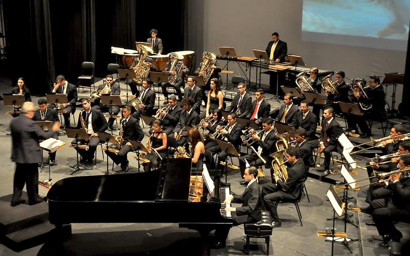Orquestra de Metais da Banda Marcial de Cubatão | Foto: divulgação