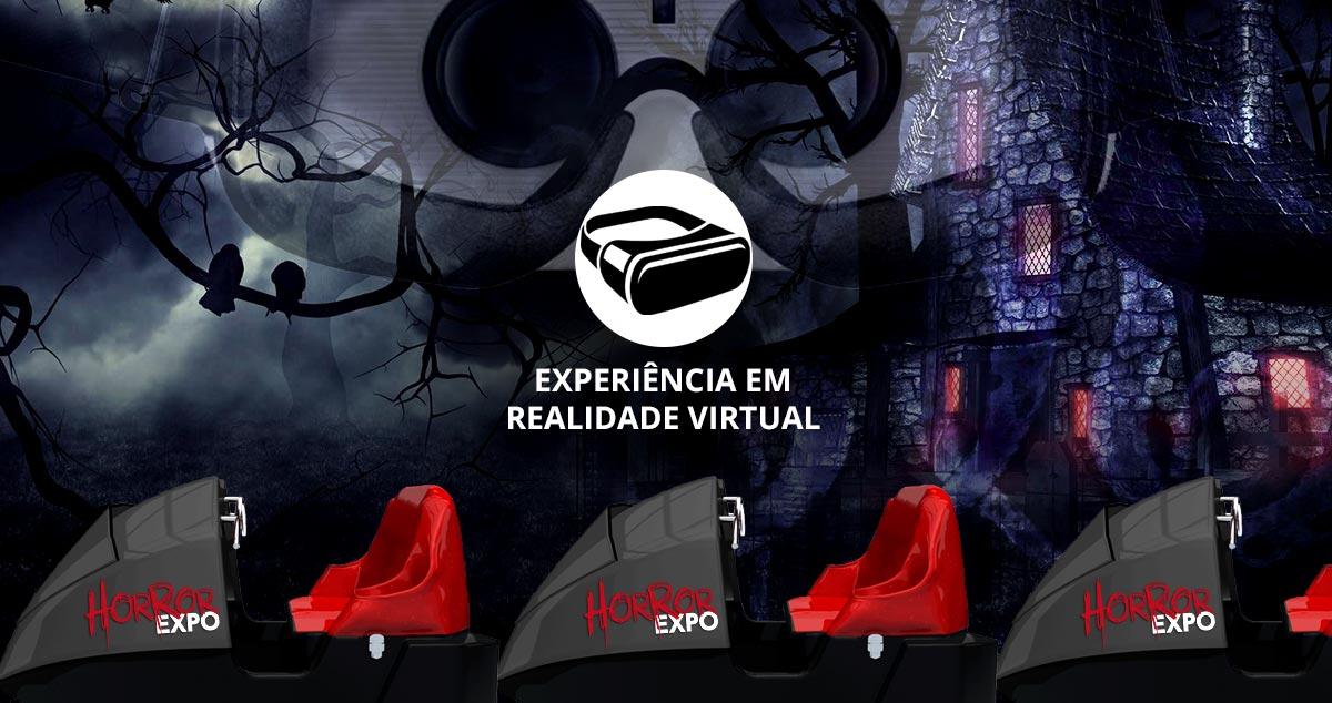 Trem Fantasma em Realidade Virtual é experiência confirmada na Horror Expo 2019